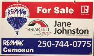 Jane FOR SALE sign